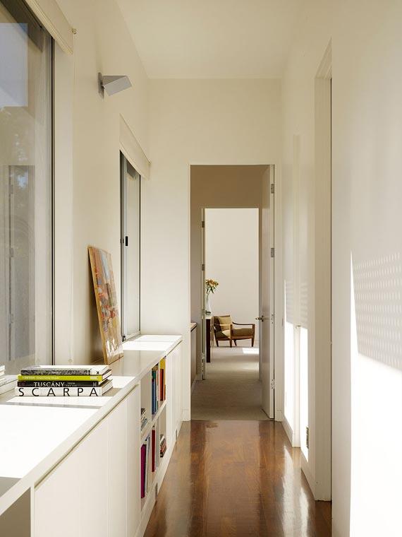 дизайн узкого коридора, прихожки