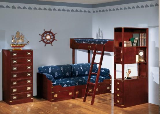 Обои для детской комнаты с бордюрами