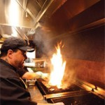 Вентиляция на кухне для приготовления пищи на открытом огне