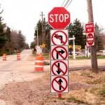 Как и куда надо двигаться, запрещающие знаки