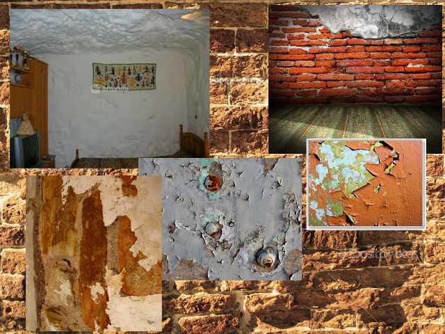 Фото неровных стен