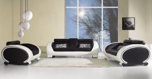 Белая мебель оливковые обои