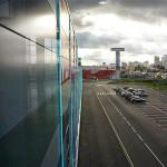 Парковка ТЦ Конструктор с фасада здания