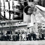 Пустые полки в магазинах СССР