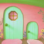 Большая и маленькая дверь