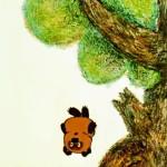 Винни Пух падает с дерева