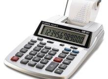 Калькулятор с принтером чеков