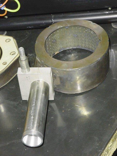Конструкция самодельного кольца газовой пропановой горелки