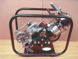 Генератор МК-2. Двигатель стирлинга альфа