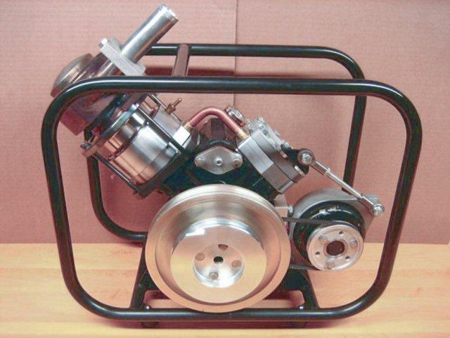Генератор на альфа двигателе стирлинга МК-2