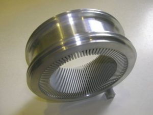 Кулер с рёбрами для двигателя стирлинга