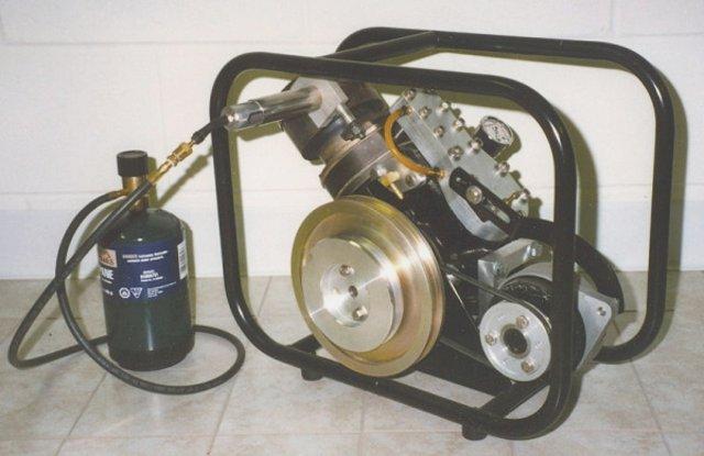 Генератор на базе двигателя Стирлинга альфа SV-2 MK I (Stirling V-2 Mark 1)
