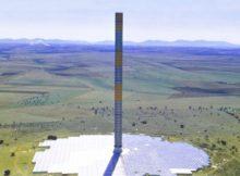 Тепло-тяговая (солнечно ветровая) башня